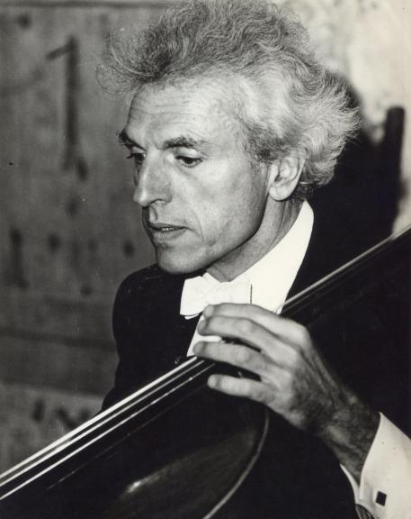 Paul TORTELIER lors du concert du 4 juin 1970