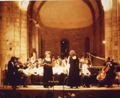 1978 Chorale «A Cœur Joie» Direction : Lysiane Serpeaud ; Soliste: Josette Leculeur