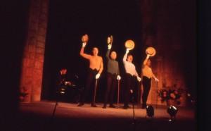 1981 – Les frères Jacques – Hubert Degeix au piano