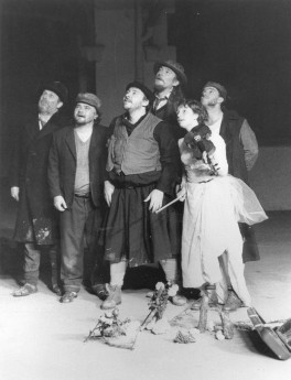 """1990 : """"Le monde d'Albert Cohen"""", spectacle de Jean-Louis Hourdin"""