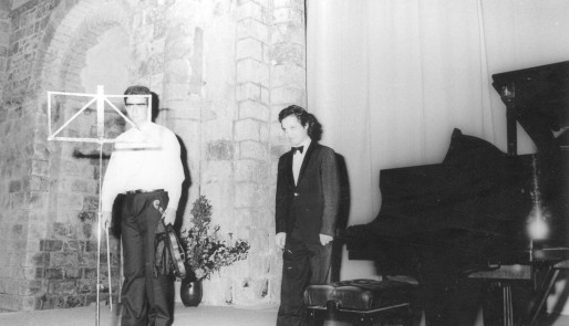 1991 : Tedi Papavrami au violon et Olivier Reboul au piano