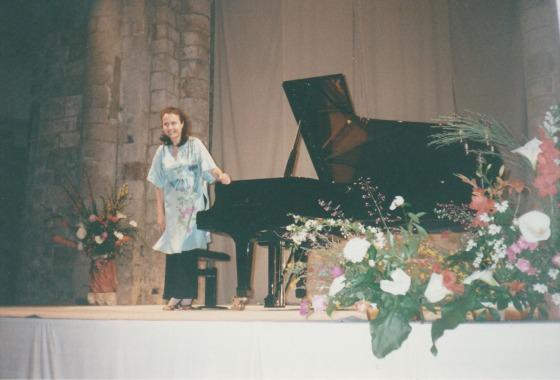 1995, récital Maria de La Pau