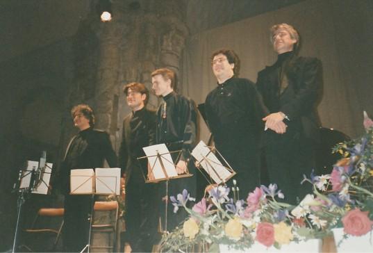 1996, European Soloists Chamber Ensemble en Quintet (Hervé Joulain au cor)