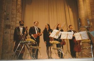 1997 : Raphaël Pidoux, violoncelle et le Quatuor Mosaïques