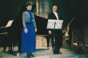2001 Anne Queffelec piano et Regis Pasquier violon