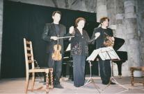 2005 : Brigitte Engerer, piano ; Hervé Joulain , cor ; Olivier Charlier, violon