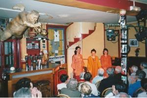2006 : Ensemble Les Fin'Amoureuses au Café du Boulevard