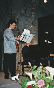 2006 : Pietr Limonov, piano et Andrei Gorcan, violon