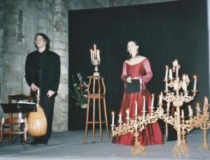 """2006 : Le Poème Harmonique, Claire Le Filiâtre, soprano et Vincent Dumestre, théorbe - """"Vanitas, Vanitum"""""""