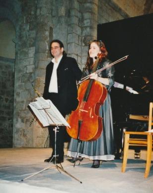 2007 :Pascal Amoyel, piano et Emmanuelle Bertrand, violoncelle