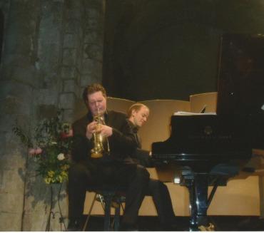 2010 : Romain Leleu, trompette et Julien Lepape, piano