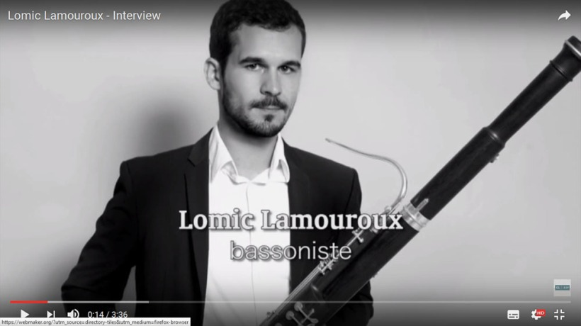 Lomic Lamouroux - Interview