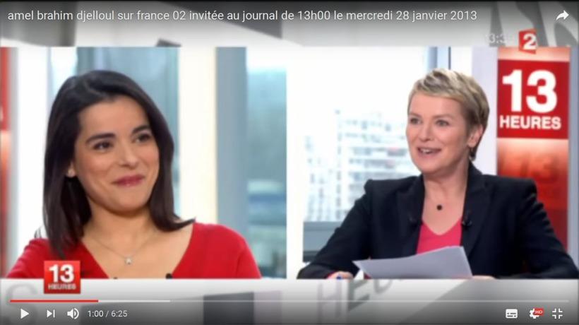 JT de 13h sur France 2,  le 28 janvier 2013