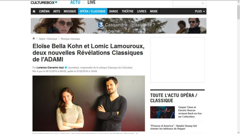 lomiclamouroux_culturebox