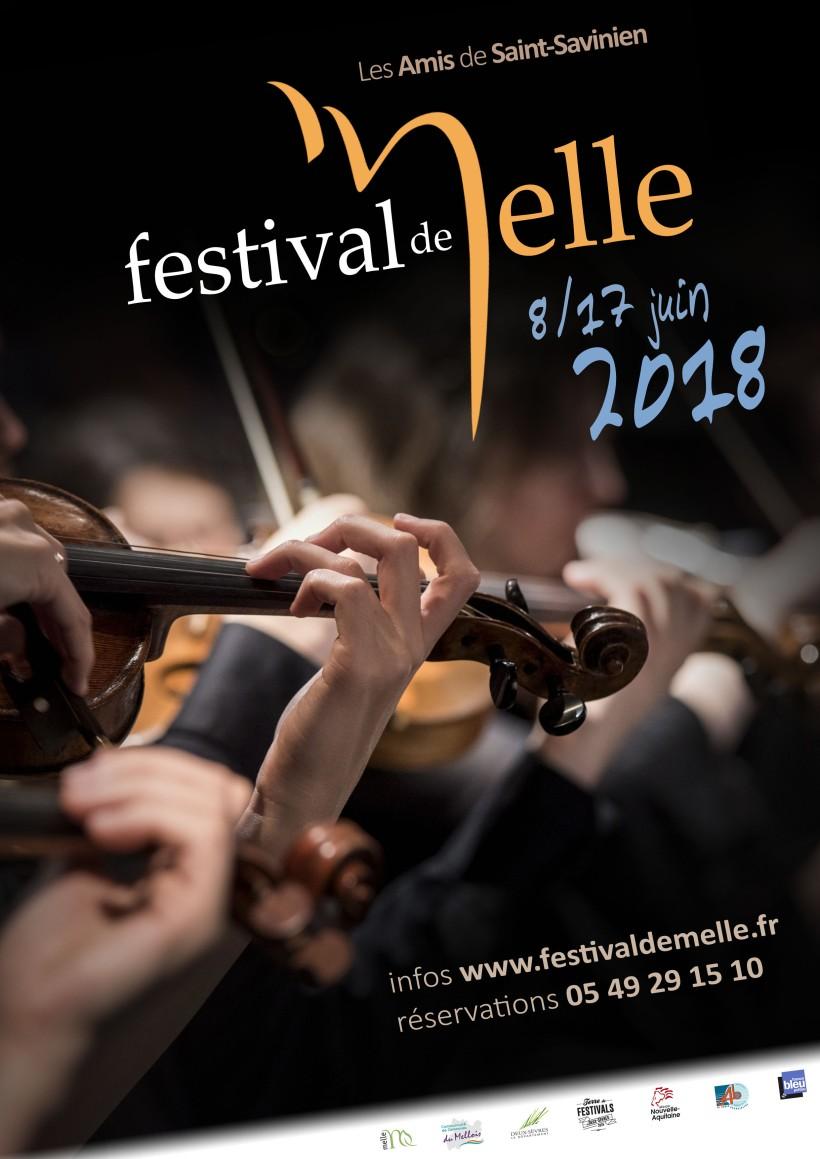 Affiche Festival de Melle 2018