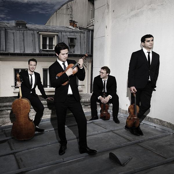 Festival de Melle - Quatuor Van Kuijk © Nicolaj Lund