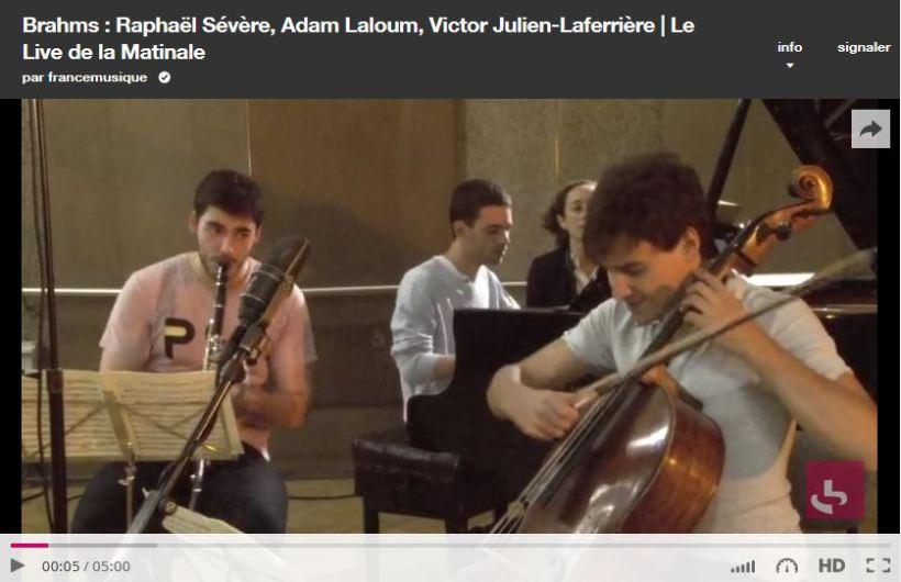 Festival de Melle - Raphael Severe Matinale France Musique