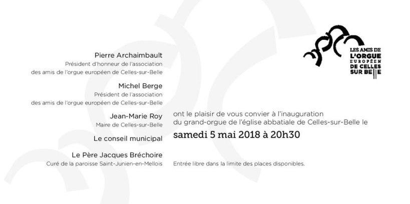 programme 5 mai 2018