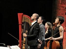 Emmanuel Ceysson et le quatuor Voce