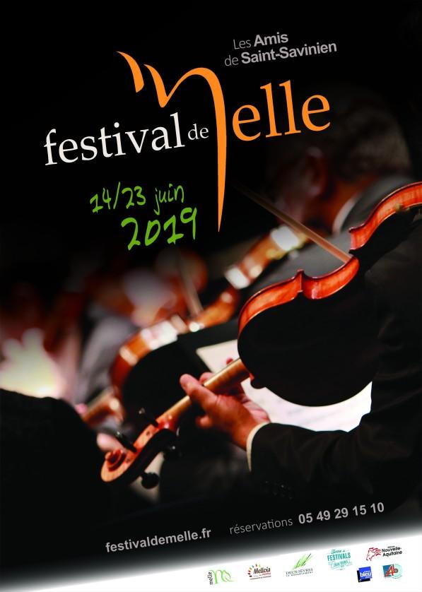 Affiche festival 2019 © Festival de Melle