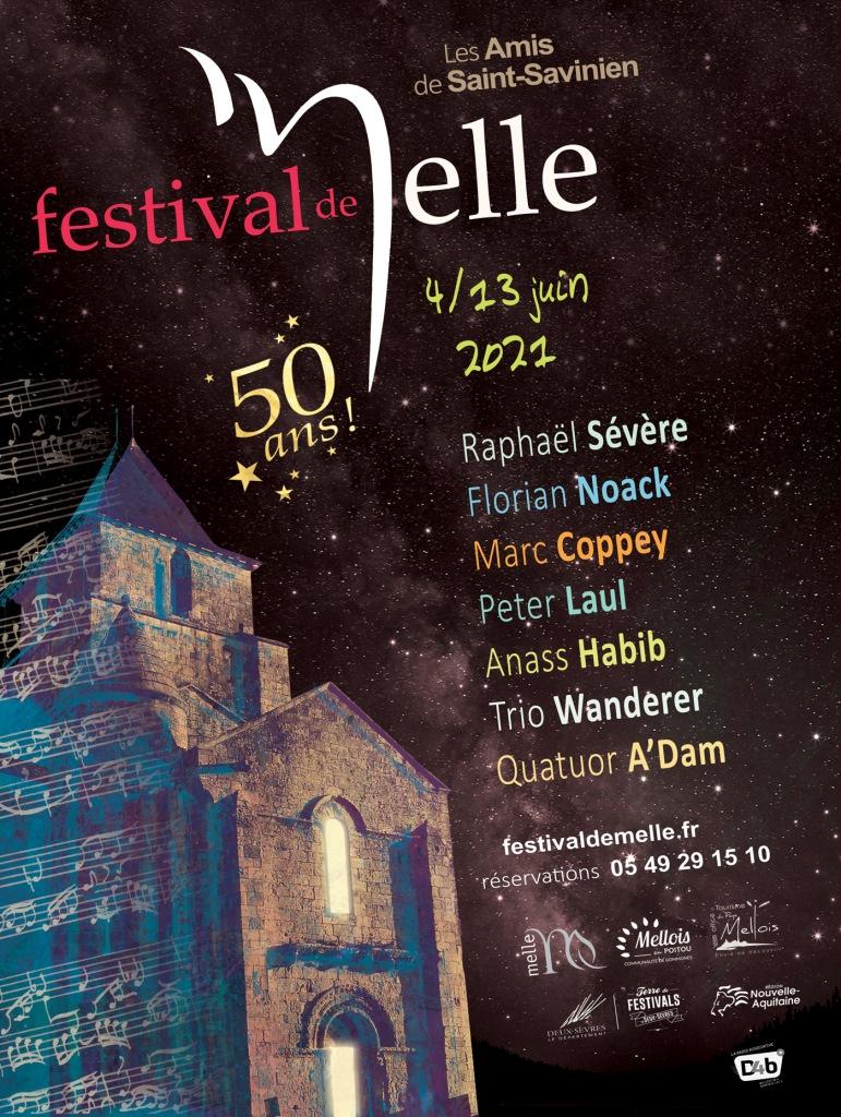 Affiche 2021 © Festival de Melle