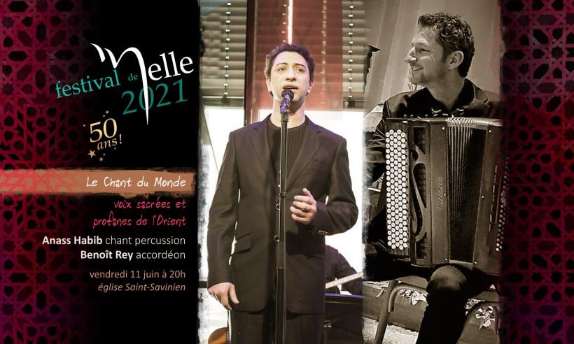 Anass Habib & Benoît Rey © 2021 Festival de Melle